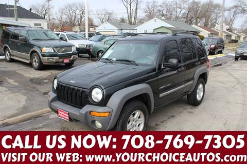 2002 Jeep Liberty for sale in Posen, IL