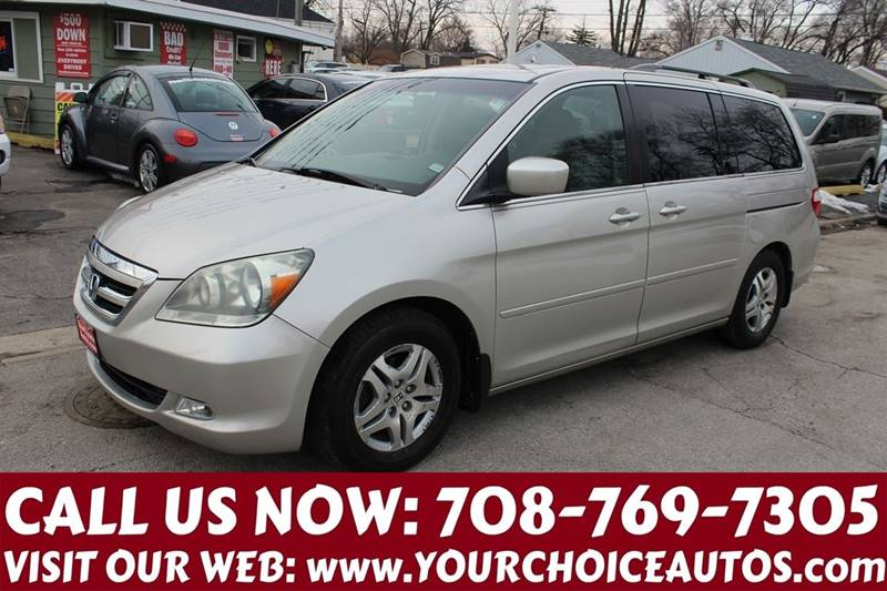 05c060821f 2006 Honda Odyssey EX-L 4dr Mini-Van w DVD In Posen IL - Your Choice ...