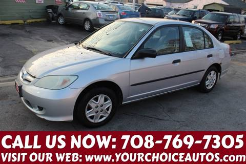 2005 Honda Civic for sale in Posen, IL