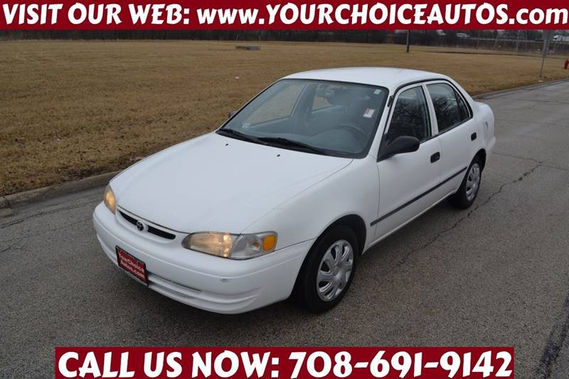 1999 toyota corolla ce 4dr sedan in posen il your choice. Black Bedroom Furniture Sets. Home Design Ideas