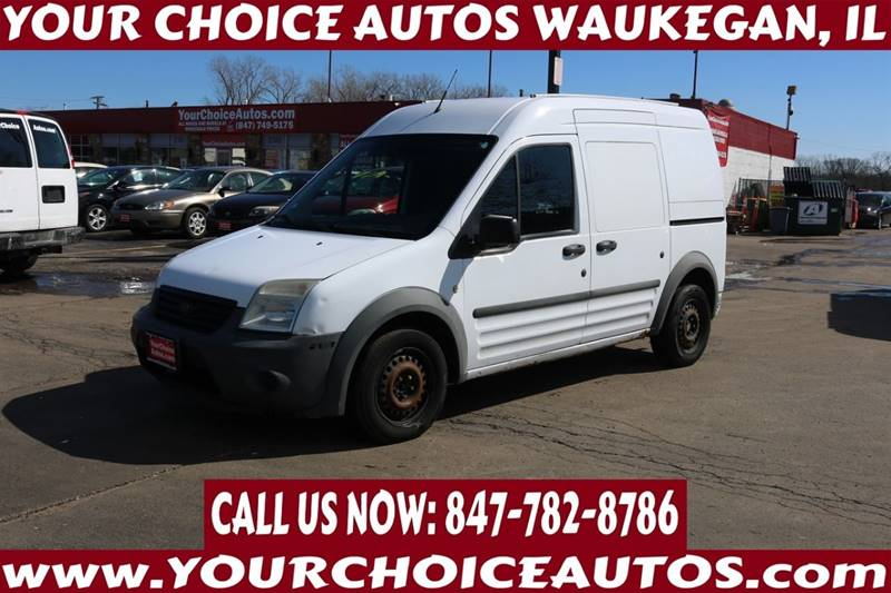 117a1630fb 2010 Ford Transit Connect XL 4dr Cargo Mini-Van w Rear Glass - Waukegan