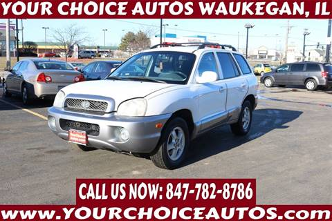2004 Hyundai Santa Fe GLS for sale at Your Choice Autos - Waukegan in Waukegan IL