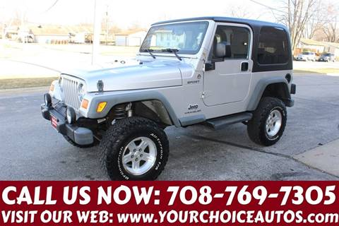 2006 Jeep Wrangler for sale in Posen, IL