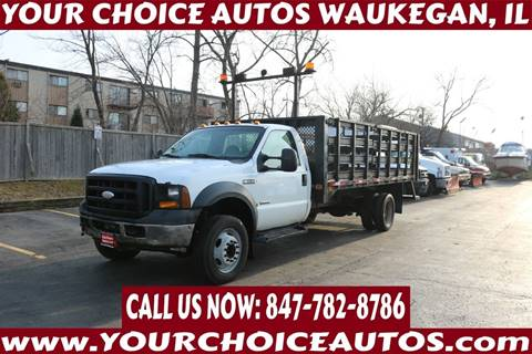 2006 Ford F-450 Super Duty for sale in Waukegan, IL