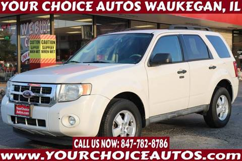 2009 Ford Escape for sale at Your Choice Autos - Waukegan in Waukegan IL