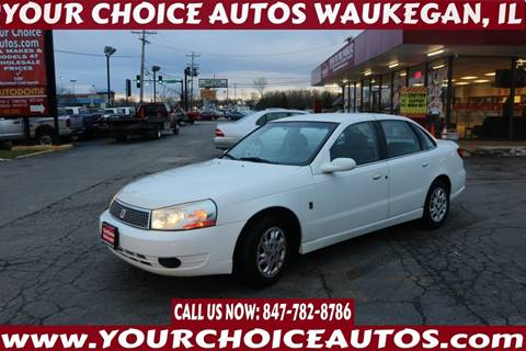 2003 Saturn L-Series L200 for sale at Your Choice Autos - Waukegan in Waukegan IL