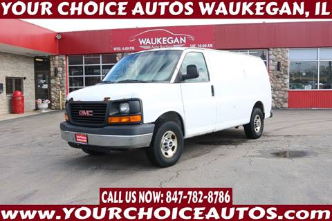 2007 GMC Savana Cargo for sale at Your Choice Autos - Waukegan in Waukegan IL