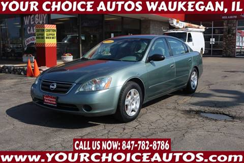 2004 Nissan Altima 2.5 S for sale at Your Choice Autos - Waukegan in Waukegan IL