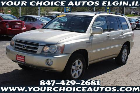 2001 Toyota Highlander for sale at Your Choice Autos - Elgin in Elgin IL