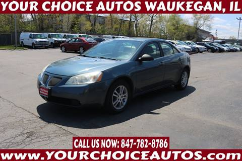 2005 Pontiac G6 for sale at Your Choice Autos - Waukegan in Waukegan IL