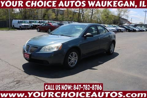 2005 Pontiac G6 for sale at Your Choice Autos - Waukegan in Waukegan IL