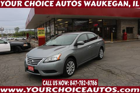 2013 Nissan Sentra for sale in Waukegan, IL