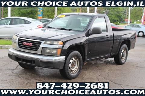 2007 GMC Canyon for sale in Elgin, IL