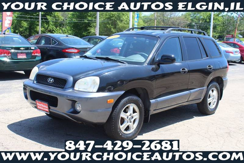 2002 Hyundai Santa Fe Gls 2wd 4dr Suv In Posen Il Your Choice Autos