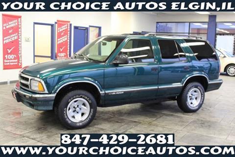 1996 Chevrolet Blazer For Sale In Elgin Il
