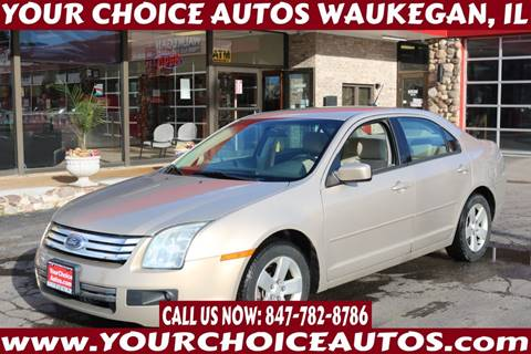 2008 Ford Fusion for sale at Your Choice Autos - Waukegan in Waukegan IL
