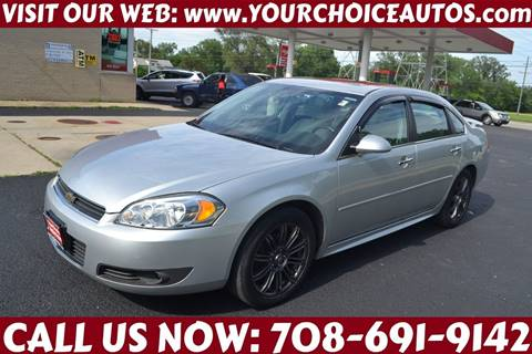2010 Chevrolet Impala for sale at Your Choice Autos - Crestwood in Crestwood IL