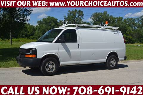 2012 Chevrolet Express Cargo for sale at Your Choice Autos - Crestwood in Crestwood IL
