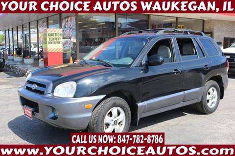 2006 Hyundai Santa Fe for sale at Your Choice Autos - Waukegan in Waukegan IL