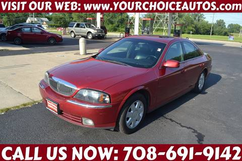 2005 Lincoln LS for sale in Crestwood, IL