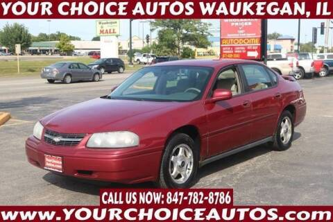 2005 Chevrolet Impala for sale at Your Choice Autos - Waukegan in Waukegan IL