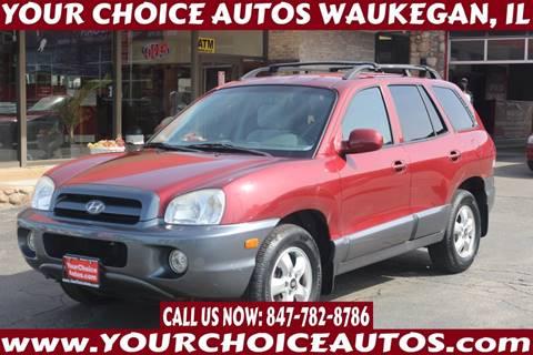 2005 Hyundai Santa Fe GLS for sale at Your Choice Autos - Waukegan in Waukegan IL