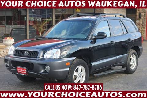 2003 Hyundai Santa Fe for sale at Your Choice Autos - Waukegan in Waukegan IL