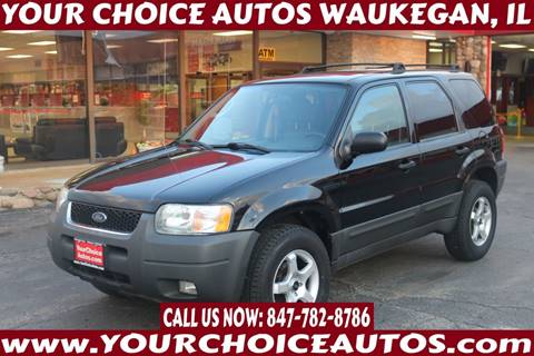 2003 Ford Escape XLT Popular for sale at Your Choice Autos - Waukegan in Waukegan IL