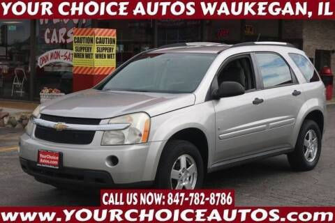 2008 Chevrolet Equinox for sale at Your Choice Autos - Waukegan in Waukegan IL