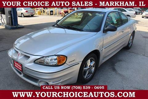 2003 Pontiac Grand Am for sale in Markham, IL