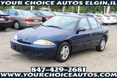 2001 Chevrolet Cavalier for sale in Elgin, IL