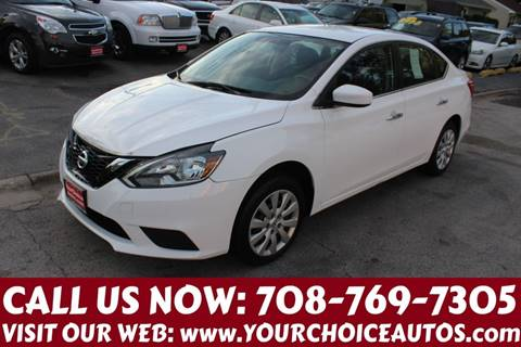 2016 Nissan Sentra for sale at Your Choice Autos in Posen IL