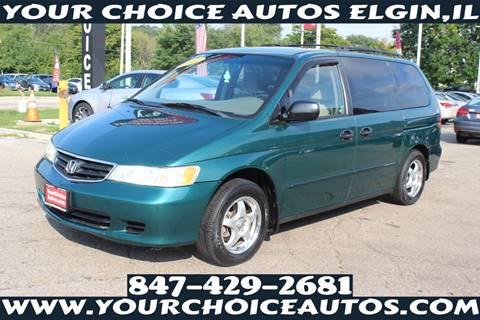 2002 Honda Odyssey for sale in Elgin, IL