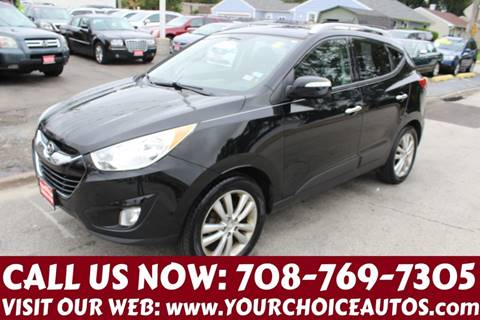 2010 Hyundai Tucson for sale at Your Choice Autos in Posen IL