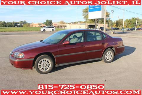2001 Chevrolet Impala for sale at Your Choice Autos - Joliet in Joliet IL