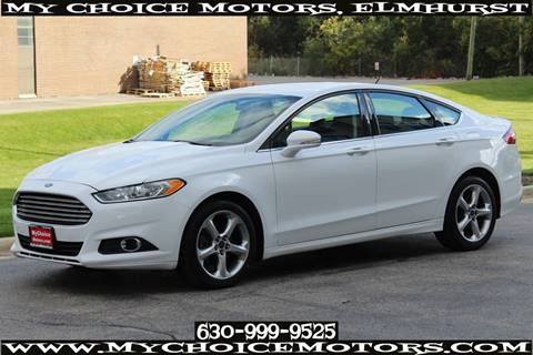 2016 Ford Fusion for sale at Your Choice Autos - My Choice Motors in Elmhurst IL