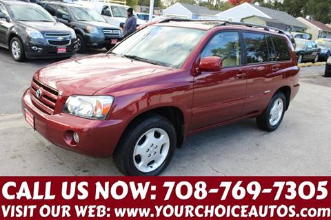 2007 Toyota Highlander for sale at Your Choice Autos in Posen IL
