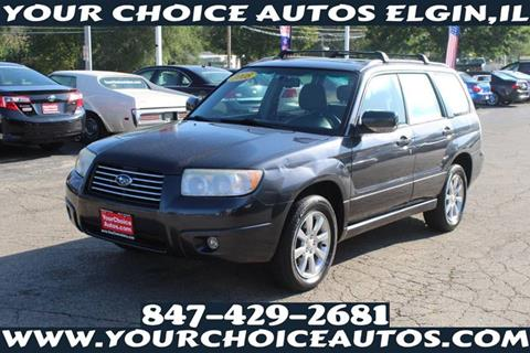 2008 Subaru Forester for sale at Your Choice Autos - Elgin in Elgin IL