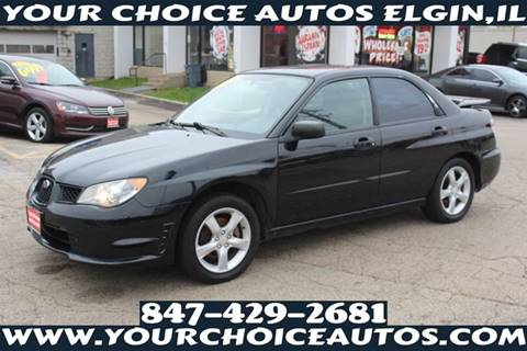 2006 Subaru Impreza for sale at Your Choice Autos - Elgin in Elgin IL