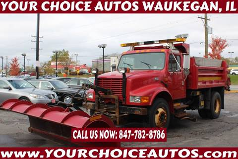 2001 International 4900 for sale in Waukegan, IL