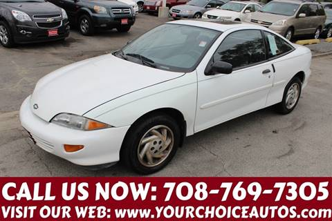 1998 Chevrolet Cavalier for sale in Posen, IL