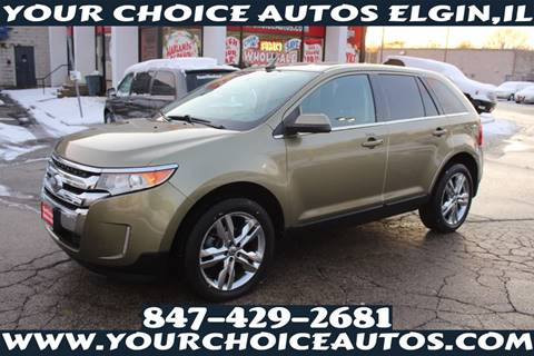 2013 Ford Edge for sale at Your Choice Autos - Elgin in Elgin IL