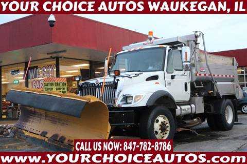 2007 International 7400 for sale in Waukegan, IL