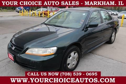 2001 Honda Accord for sale in Markham, IL