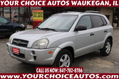 2008 Hyundai Tucson for sale at Your Choice Autos - Waukegan in Waukegan IL
