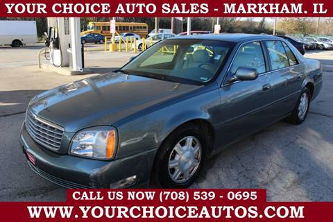 2003 Cadillac DeVille for sale in Markham, IL