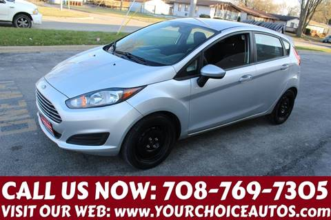 2014 Ford Fiesta for sale at Your Choice Autos in Posen IL