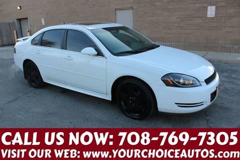 2012 Chevrolet Impala for sale in Posen, IL