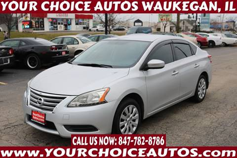 2013 Nissan Sentra for sale at Your Choice Autos - Waukegan in Waukegan IL