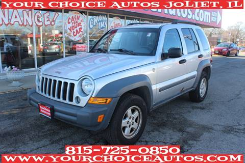 2005 Jeep Liberty for sale at Your Choice Autos - Joliet in Joliet IL